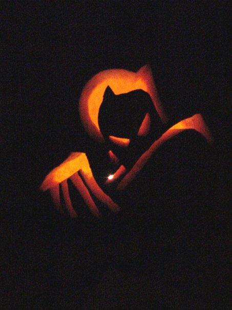 Dark knight pumpkin by xkiddo on deviantart