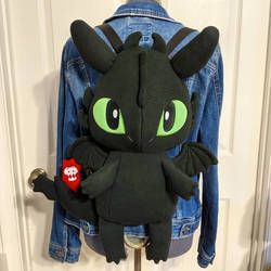 Toothless Plush Backpack