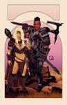 TESV Tales #1 - Mercenaries [cover artwork]