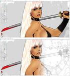 Pretty Reckless #1 - Blondie Bloodlust [outlines]