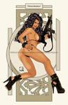 Pretty Reckless #2 Gitana Banshee by crcarlosrodriguez