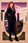 Lady of Dusk [alternative version] by crcarlosrodriguez