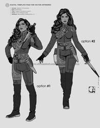 Captain Providencia Castro [conceptual proposals] by crcarlosrodriguez