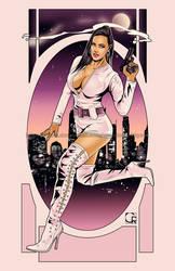Ashley Spy [Mrs Agent X] by crcarlosrodriguez