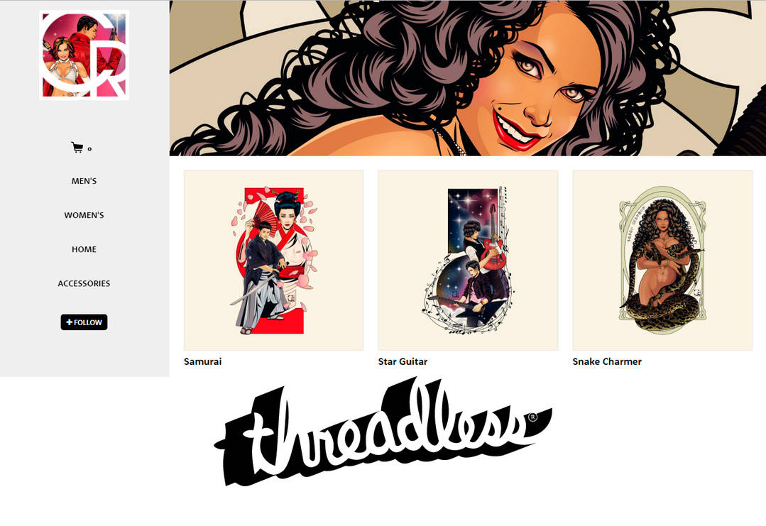 threadless DA background