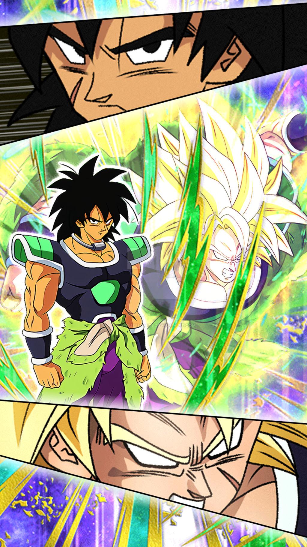 Wallpaper Broly Dragon Ball Z Dokkan Battle 2 By Gaerusenshi21