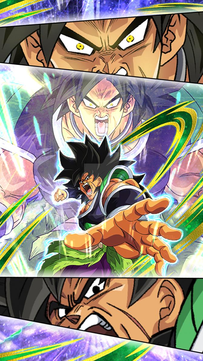 Wallpaper Broly Dragon Ball Z Dokkan Battle 3 By Gaerusenshi21 On