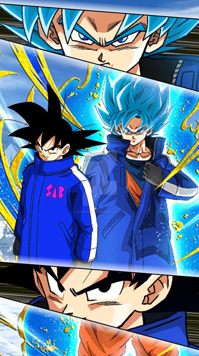 Wallpaper Gokudragon Ball Z Dokkan Battle 5 By Gaerusenshi21 On