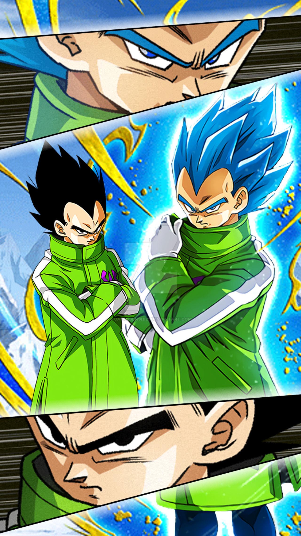 Wallpaper Vegeta Dragon Ball Z Dokkan Battle 6 By Gaerusenshi21