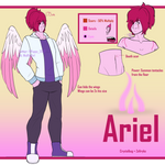 OC Reference - Ariel by WolffaGirl