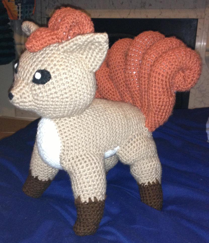 Amigurumi Vulpix Pattern : Vulpix Crochet by Mr-Nova on DeviantArt