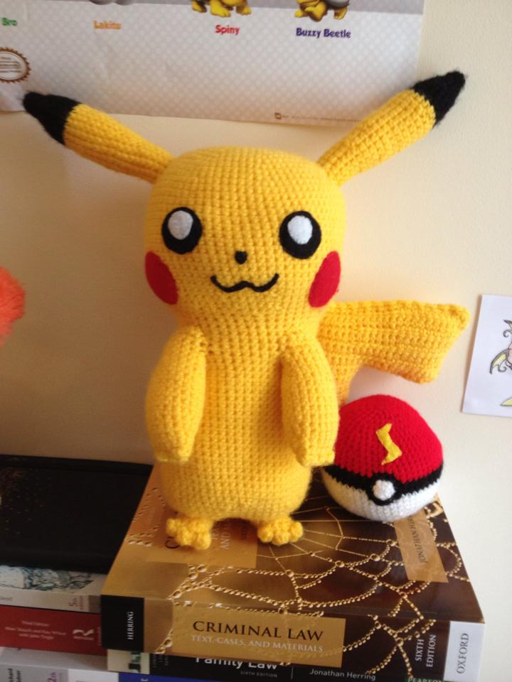 Knitted Pikachu Pattern : Pikachu Amigurumi Crochet Pokemon by Mr-Nova on DeviantArt