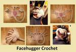 Facehugger Crochet
