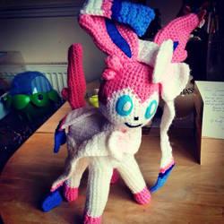 Sylveon Crochet Plush