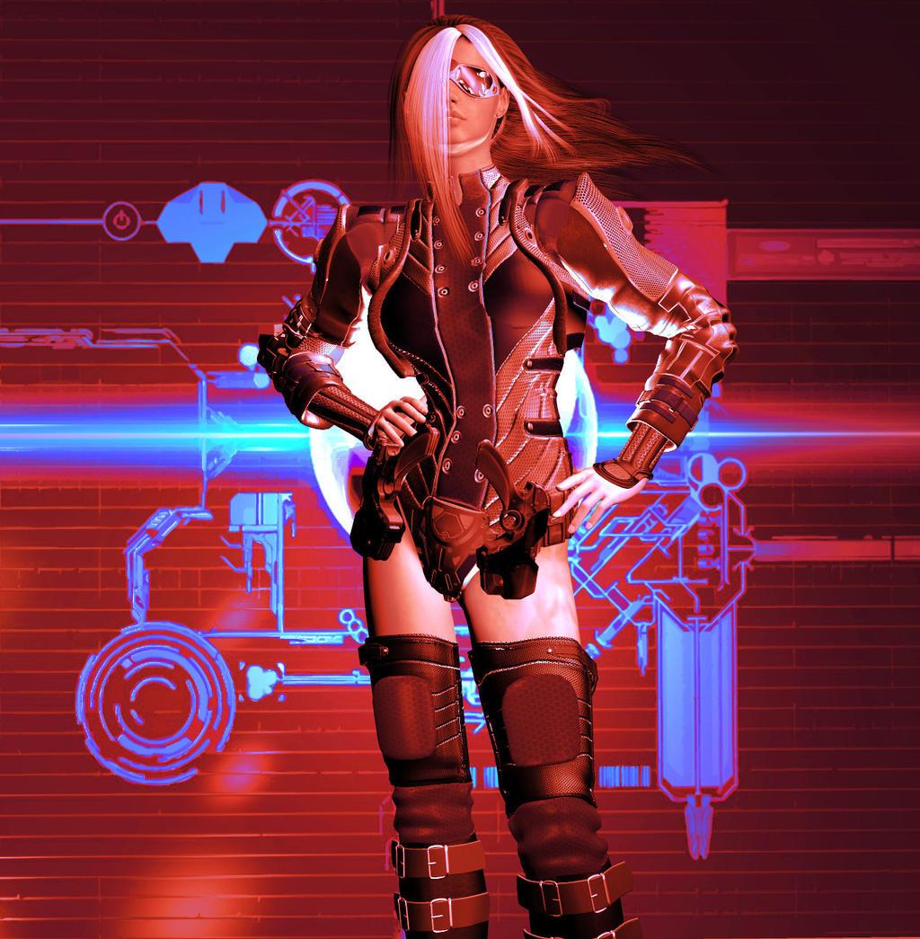 Glamorous Guns by nitegrafix