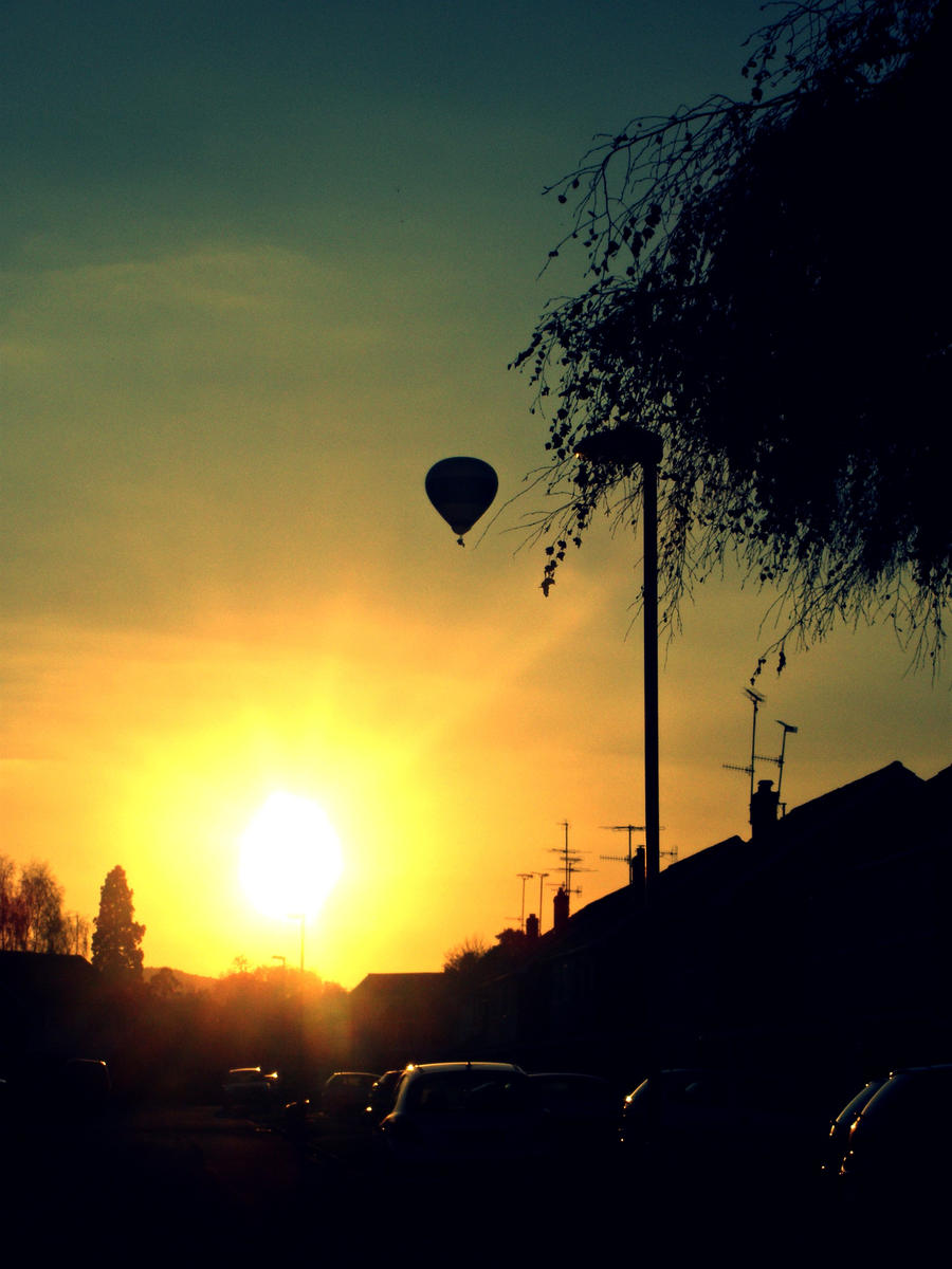 Hot Air Balloon by CutiieePiiee