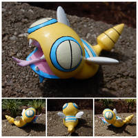 Dunsparce 3D Printed and Hand Painted Figurine by CreativeWilds