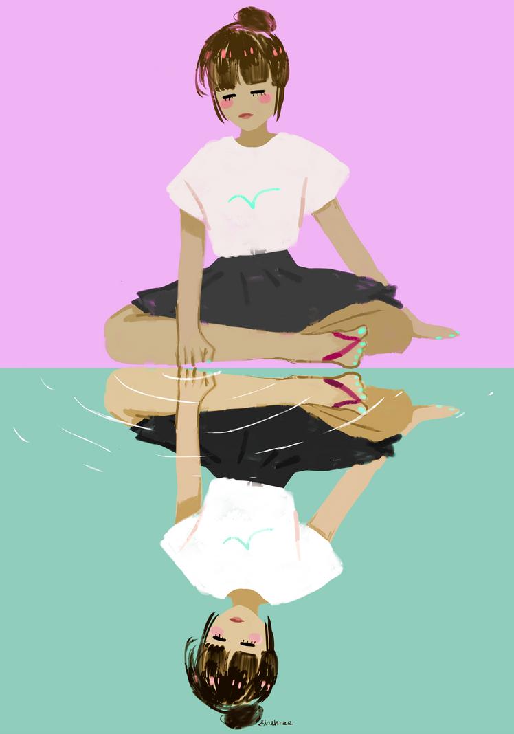 reflection by shehree