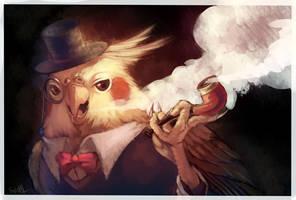 bird duke by Era-Artwork