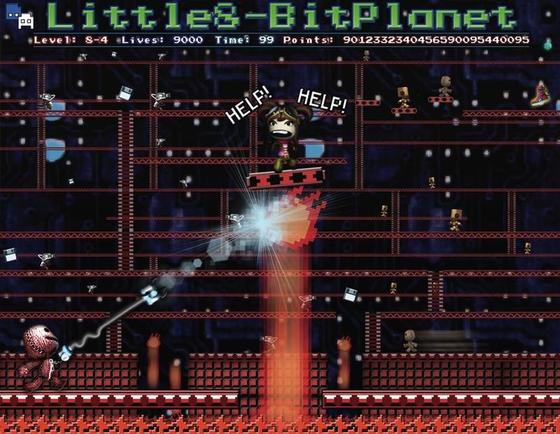 Little 8-Bit Planet by davilesdesigns
