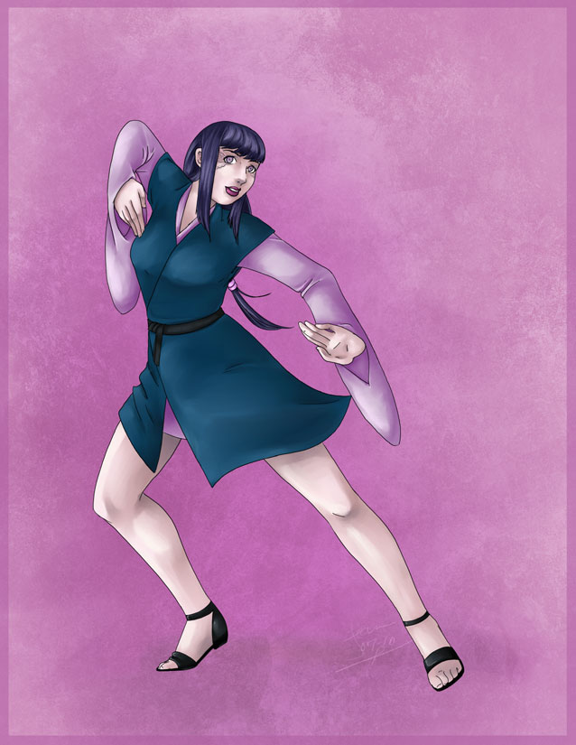 Redesigned Hinata by nightambre