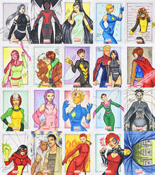 Marvel Universe 2011 -1 by nightambre