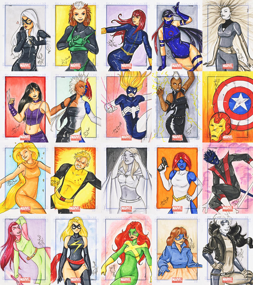 Marvel Universe 2011 - 2 by nightambre