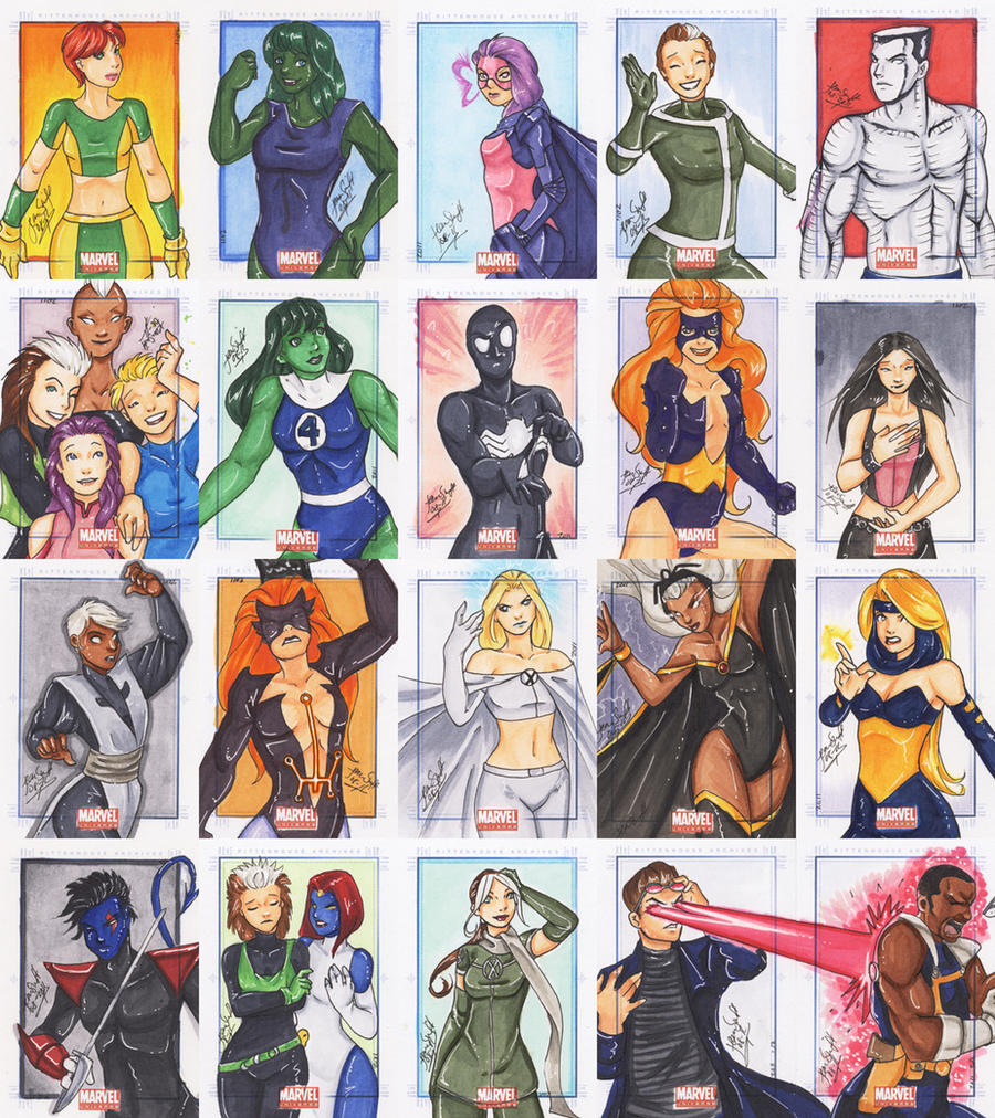 Marvel Universe 2011 - 5 by nightambre
