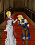 FFT Agrias and Ovelia