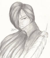 Uriel from Angel Sanctuary by nightambre