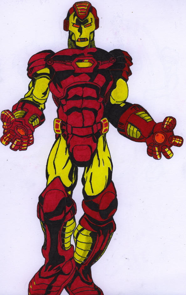 Ironman coloured by Maki12