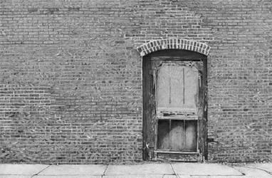 A Door in Homer, Nebraska - drawing