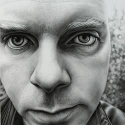 Self Portrait 2007 - drawing by dizzykid