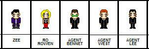 Little pixel Zeta characters