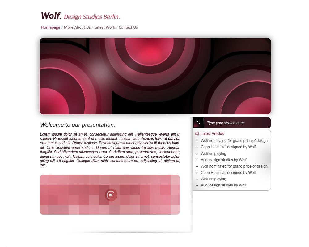 wolf design studio berlin by denoir on deviantart. Black Bedroom Furniture Sets. Home Design Ideas