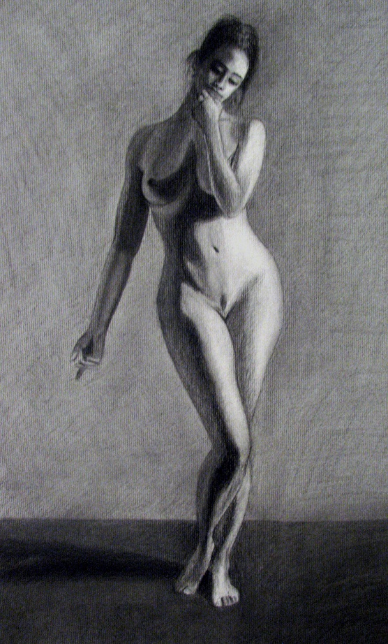 Female Nude Charcoal by PinholeSociety on DeviantArt