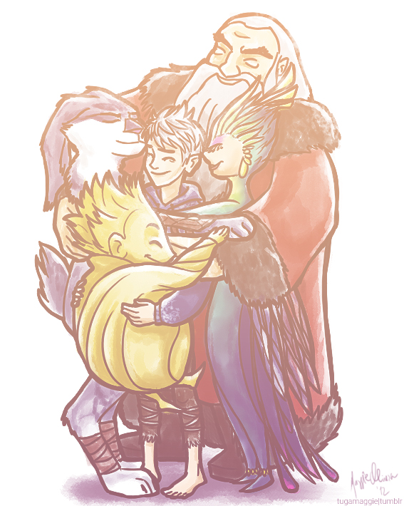 Group hug by tugaMaggie