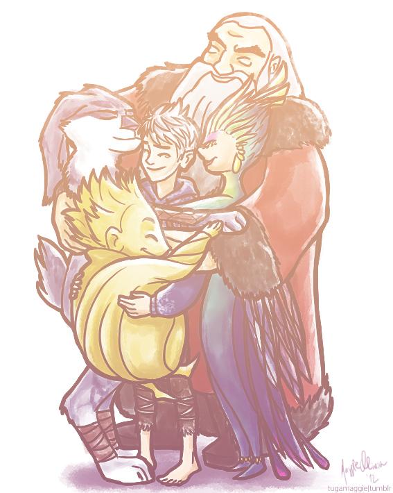 Group hug by tugaMaggie