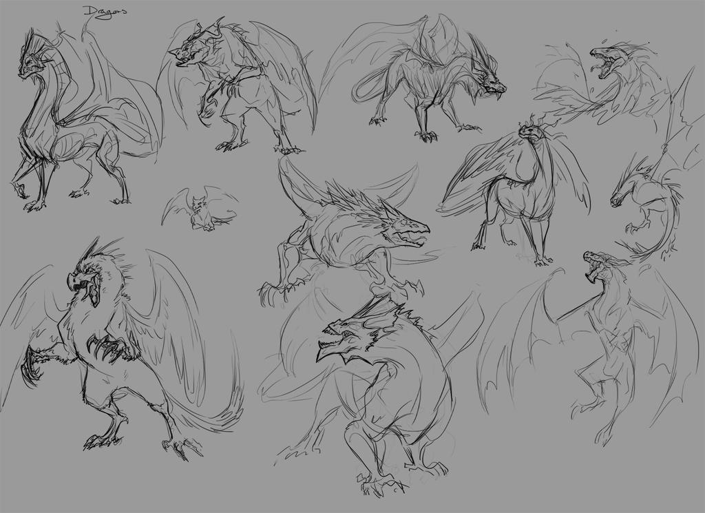 Dragons by urealistisk