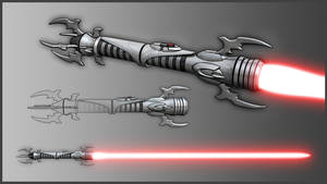 Sith Lightsaber Hilt