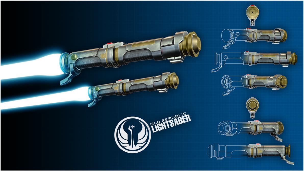 Old Republic Lightsaber by broodofevil