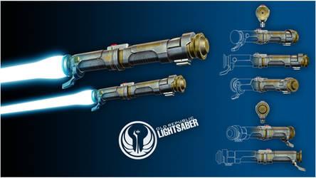 Old Republic Lightsaber