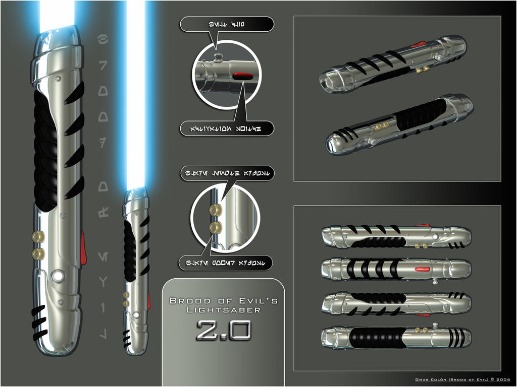 Lightsaber 2.0 by broodofevil