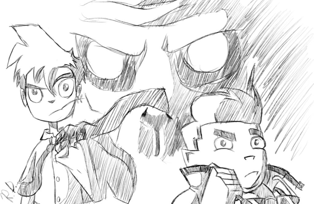randy sketch by RisingDiablo