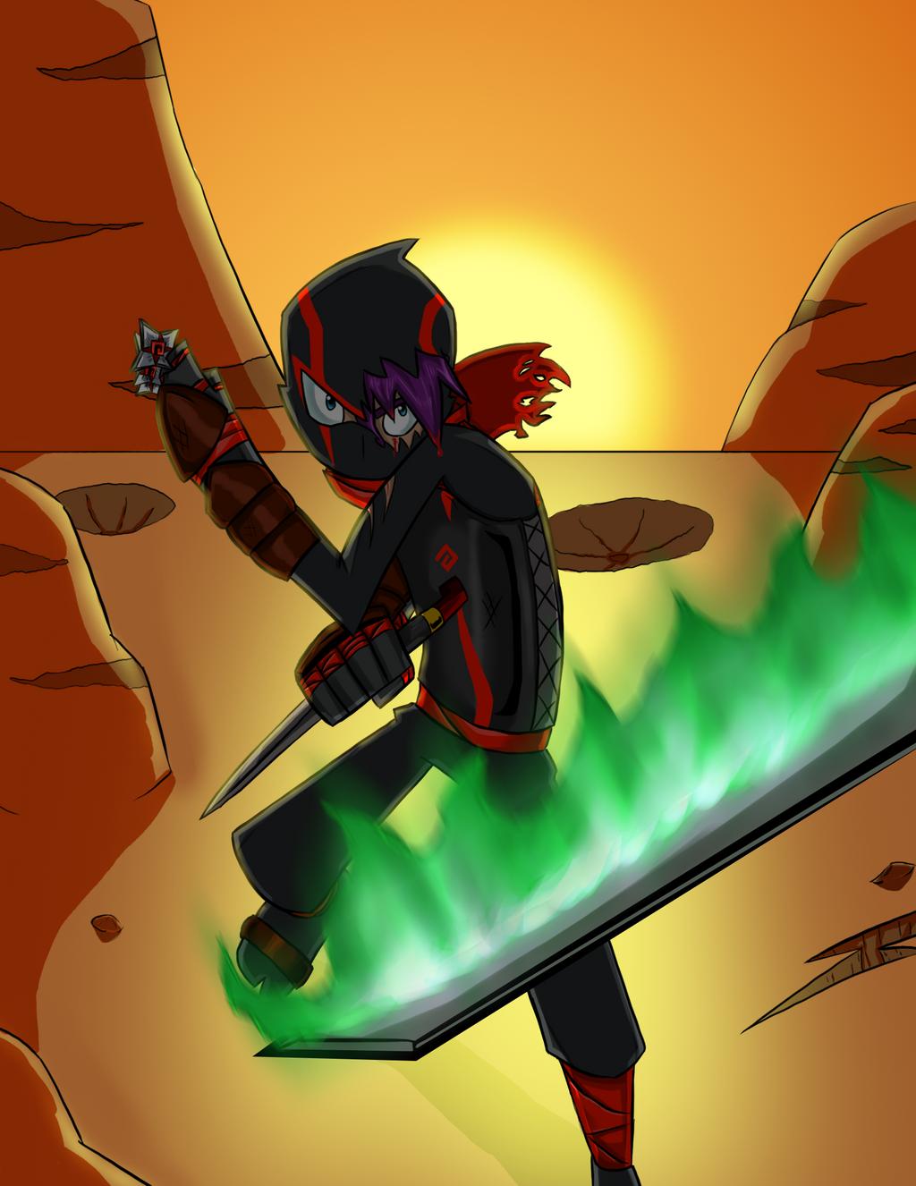 Ninja armor by RisingDiablo