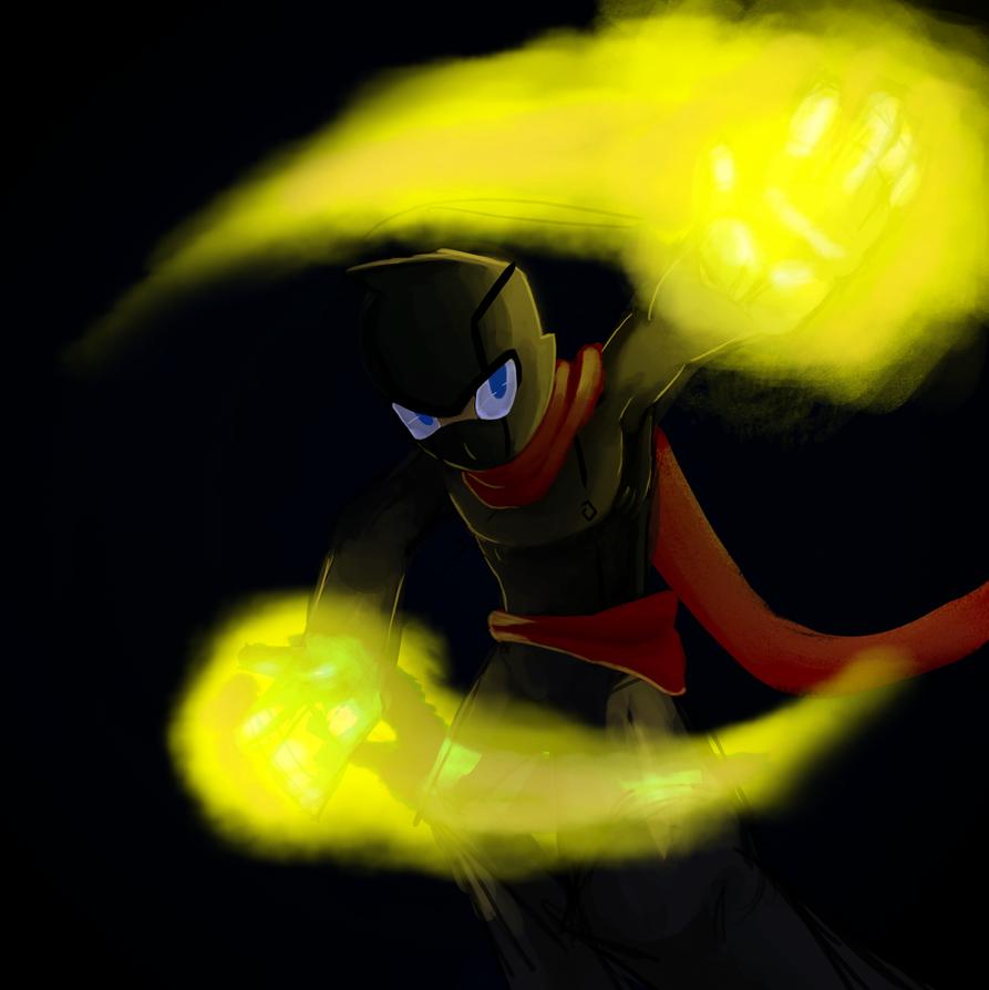 magical ninja powers by RisingDiablo