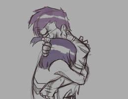sketch hug