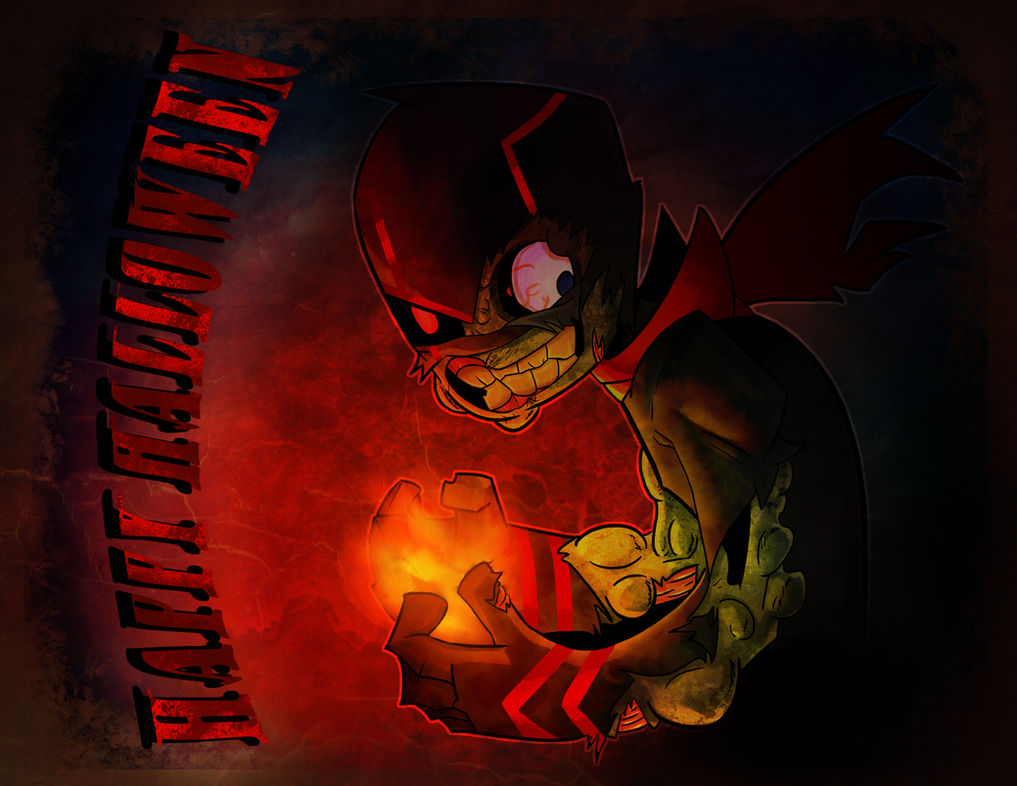 Happy Halloween from Randy Zombieham by RisingDiablo