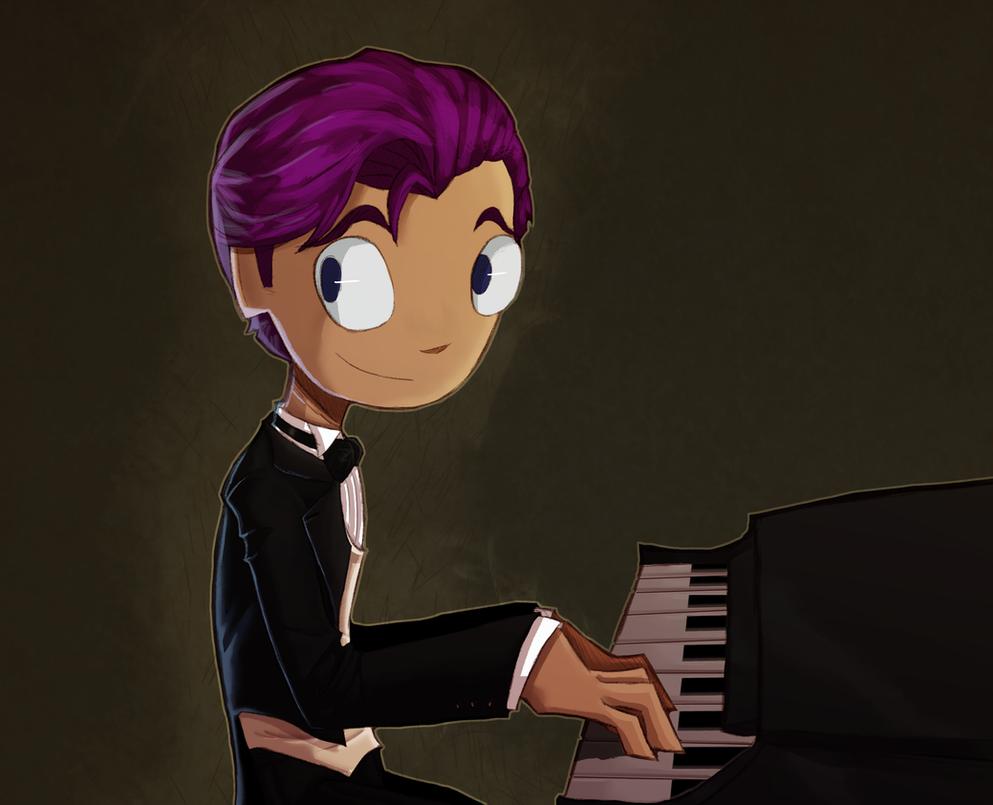 9th grade pianist by RisingDiablo