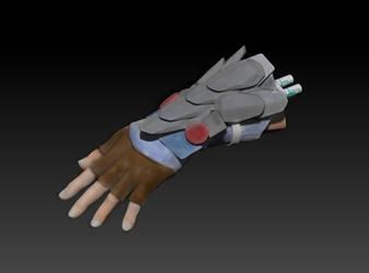 Cyborg arm concept by D3vilKill3r23
